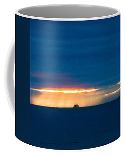 Ship On The Horizon Coffee Mug