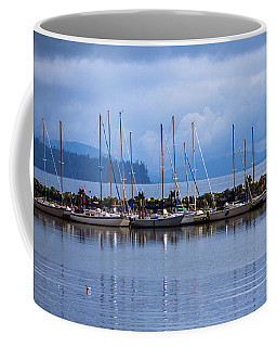 Coffee Mug featuring the photograph Ship To Shore by Jordan Blackstone