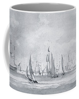 Shipping In The Thames Coffee Mug