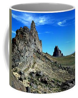 Coffee Mug featuring the photograph Shiprock by Alan Socolik