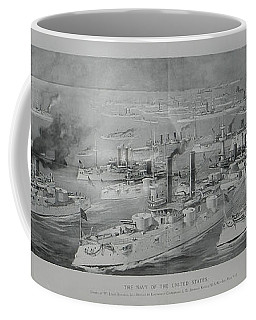 Coffee Mug featuring the digital art Ships by Cathy Anderson