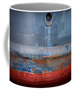 Coffee Mug featuring the photograph Shipside Abstract II by Patricia Strand