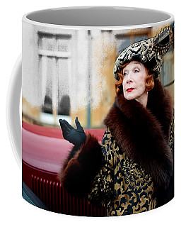 Shirley Maclaine @ Tv Serie Downton Abbey  Coffee Mug