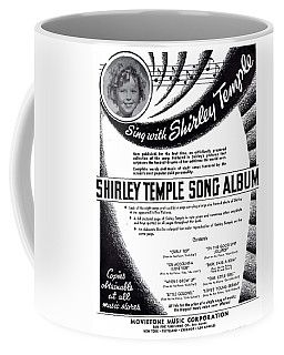 Shirley Temple Song Album Coffee Mug