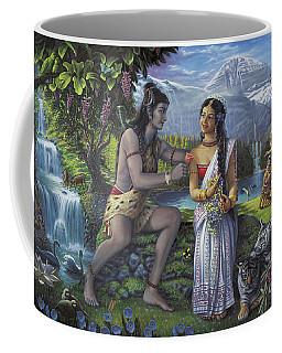 Shiva And Parvati Coffee Mug