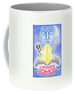 Shiva Coffee Mug by Keiko Katsuta