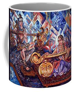 Shiva Parvati Coffee Mug by Harsh Malik
