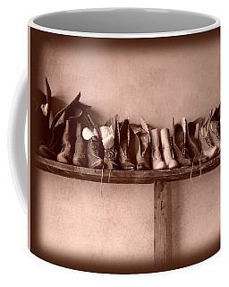Shoes Coffee Mug by Fran Riley
