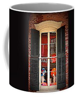 Shop Window Coffee Mug by Beth Vincent