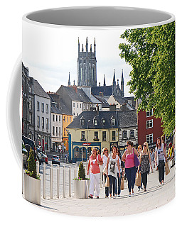 Coffee Mug featuring the photograph Shopping Trip by Mary Carol Story
