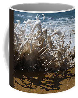 Shorebreak - The Wedge Coffee Mug by Joe Schofield