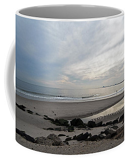 Coffee Mug featuring the photograph Shores Of Holgate by Elsa Marie Santoro