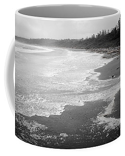 Winter At Wickaninnish Beach Coffee Mug