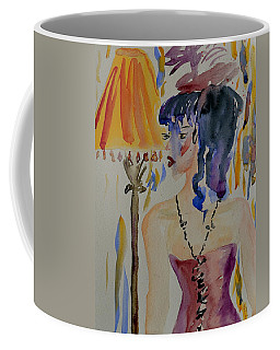 Showgirl Coffee Mug by Beverley Harper Tinsley