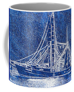 Shrimp Boat - Dock - Coastal Dreaming Coffee Mug