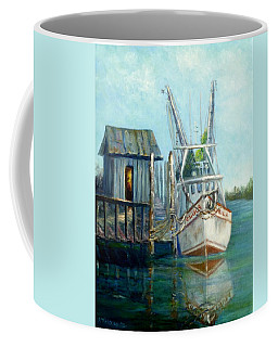 Shrimp Boat Paintings Coffee Mug
