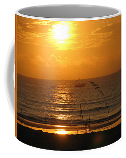 Shrimp Boat Sunrise Coffee Mug