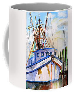 Shrimp Fishing Boat Coffee Mug