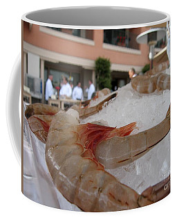 Shrimp On Ice Coffee Mug