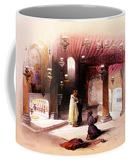 Shrine Of The Nativity Bethlehem April 6th 1839 Coffee Mug