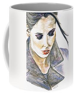 Shy Lady Coffee Mug