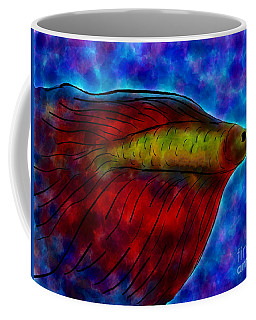 Siamese Fighting Fish II Coffee Mug