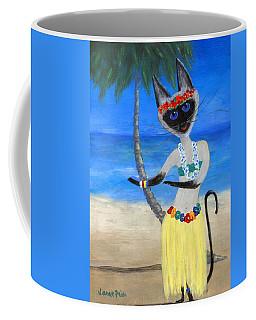 Siamese Queen Of Hawaii Coffee Mug by Jamie Frier