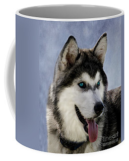 Siberian Husky Coffee Mug by Linsey Williams