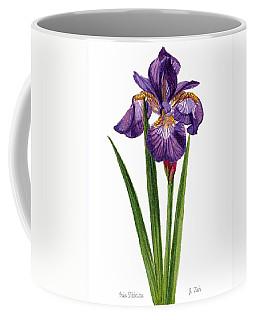 Siberian Iris II - Iris Sibirica Coffee Mug