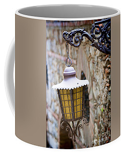 Sicilian Village Lamp Coffee Mug by David Smith