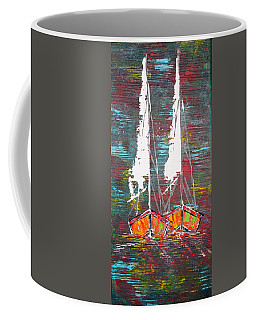 Side By Side - Sold Coffee Mug