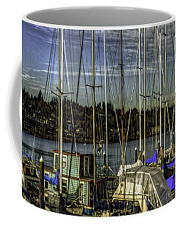 Side By Side Coffee Mug by Jean OKeeffe Macro Abundance Art