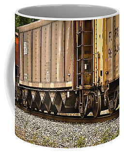Coffee Mug featuring the photograph Side Track 2 by Greg Jackson