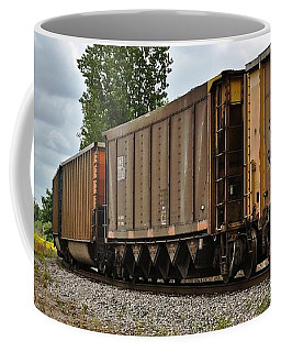 Coffee Mug featuring the photograph Side Track by Greg Jackson
