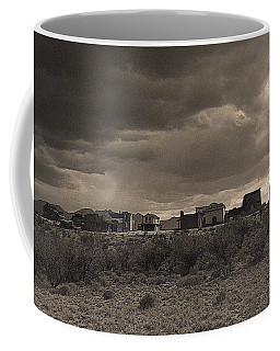 Coffee Mug featuring the photograph Side View Tom Horn Set Mescal Arizona by David Lee Guss