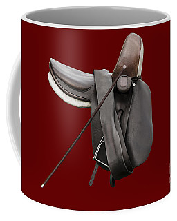 Sidesaddle And Crop Coffee Mug by Linsey Williams