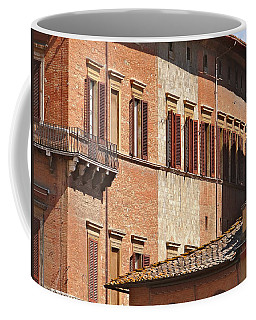 Coffee Mug featuring the photograph Siena At Two by Ira Shander