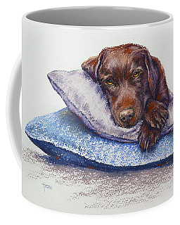 Coffee Mug featuring the painting Siesta by Cynthia House