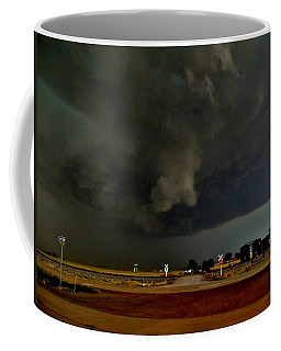 Coffee Mug featuring the photograph Signs Of A Supercell by Ed Sweeney