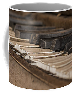 Silent Keys Coffee Mug