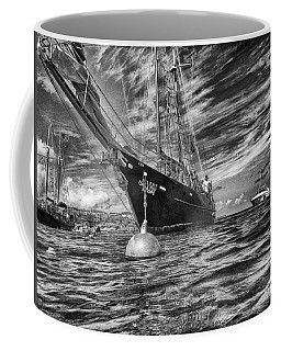 Coffee Mug featuring the photograph Silent Lady by Howard Salmon