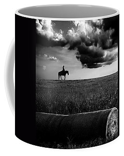 Silhouette Bw Coffee Mug