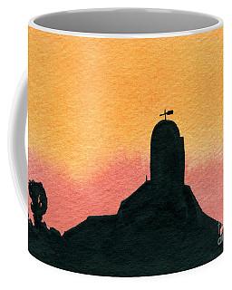 Silhouette Farm 1 Coffee Mug