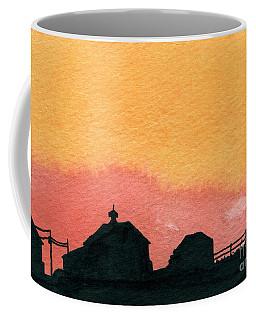 Silhouette Farm 2 Coffee Mug