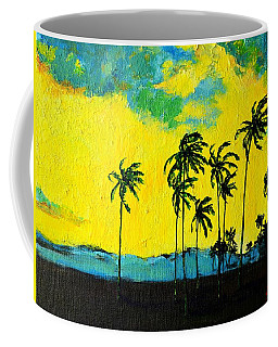 Silhouette Of Nature Coffee Mug