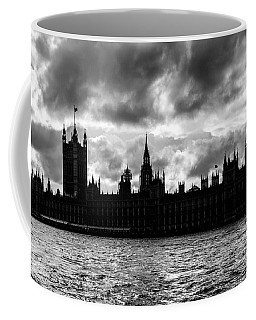 Silhouette Of  Palace Of Westminster And The Big Ben Coffee Mug