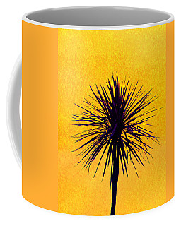 Silhouette On Gold Coffee Mug