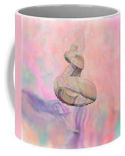 Coffee Mug featuring the digital art Silk Paper Visitor by Aliceann Carlton