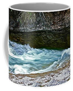 Silky Flow Coffee Mug by Linda Bianic