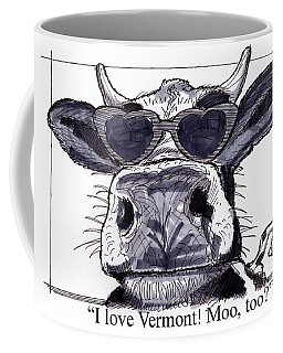 Silly Cow From Vermont Coffee Mug
